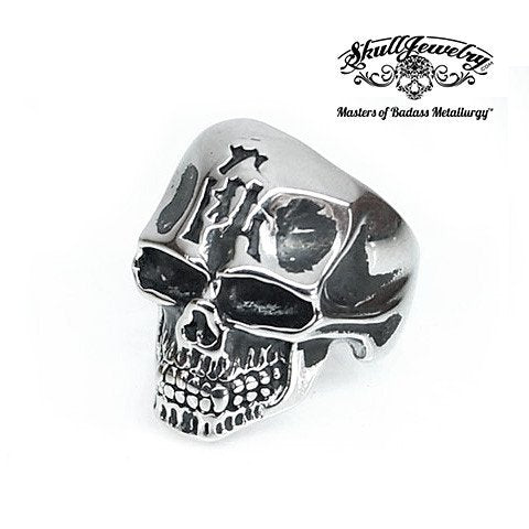 Jaw Bone Skull Ring