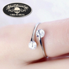 'Love Me Two Times' Adjustable Ring