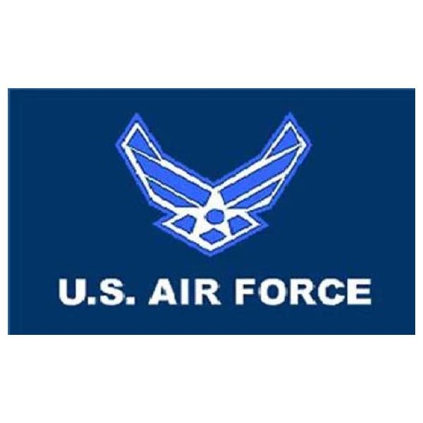 AIR FORCE 3'x5' Flag (flag020)