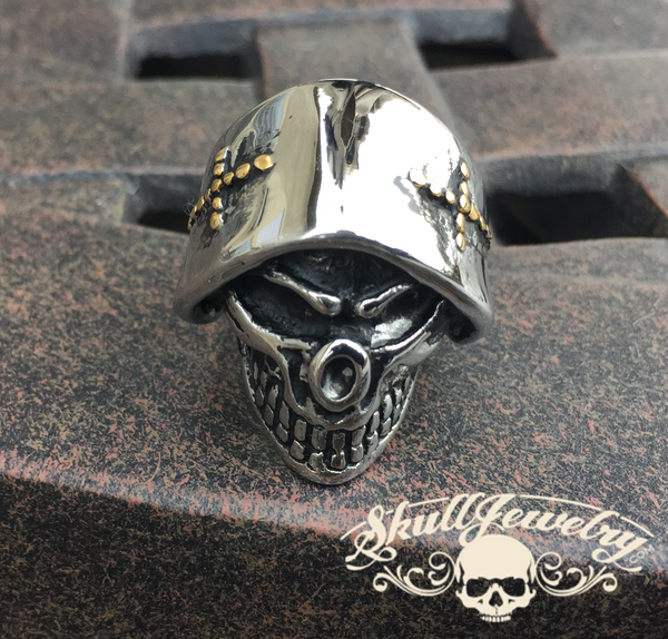 Angel of Death Skull Ring