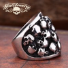 'Bad Company' 21 Skull's Skull Ring - (4036)