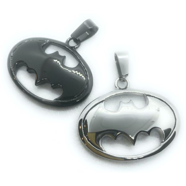 'Batman' Inspired Pendant (2 colors)