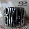 badass biker stainless steel ring from skulljewelry.com