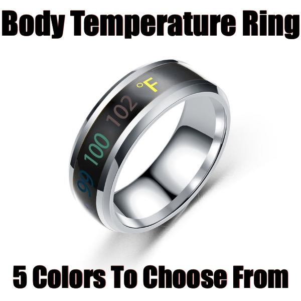 body temperature ring