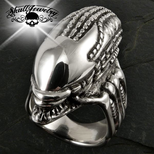 'ALIEN' Stainless Steel Ring
