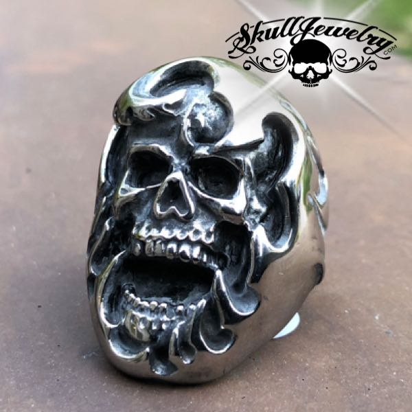 Big, Bold & Heavy Skull Ring