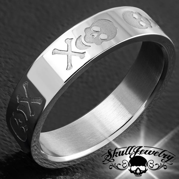 Wedding Rings Skulljewelry Com American Owned Operated 1 866 45 Skull Free Same Day Shipping