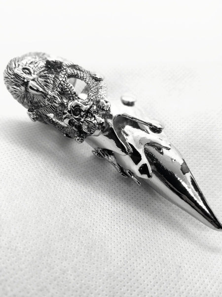 Eaglehead Skull Full Finger Ring