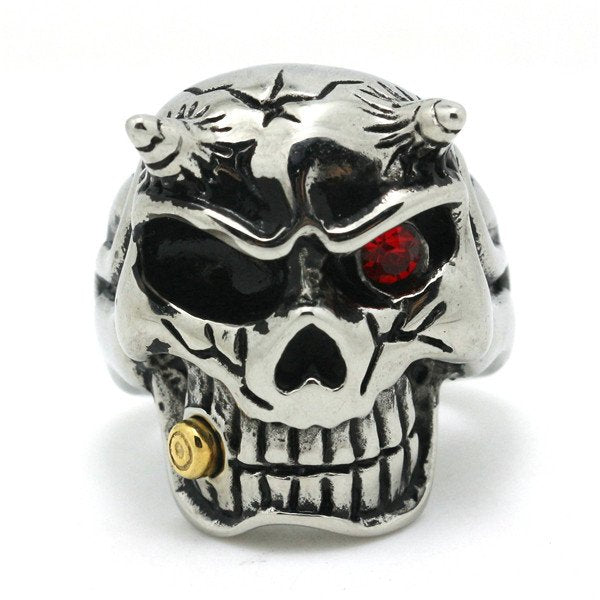 'Your Going To Pay' Skull Ring (449)