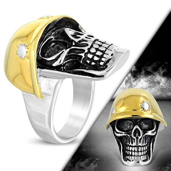 destroyer gold skull ring