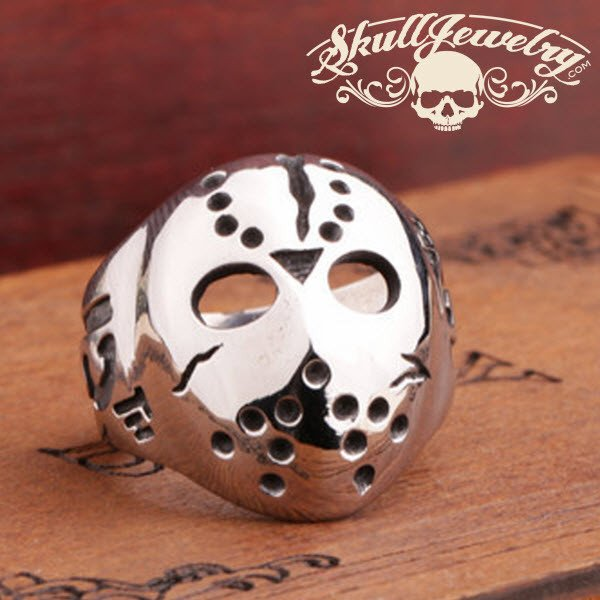 friday the 13th stainless steel ring