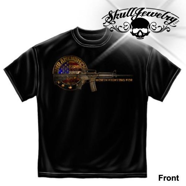 2nd Amendment 'Worth Fighting For' T-Shirt