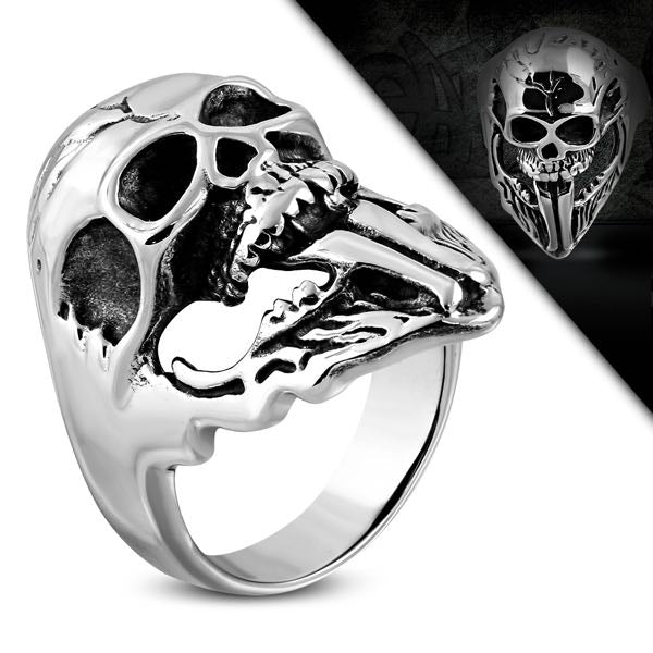 gene simmons skull ring