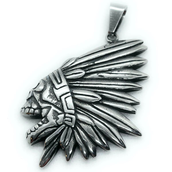 indian warrior pendant