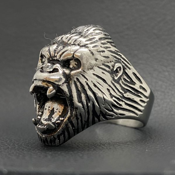 'King Kong' stainless steel ring