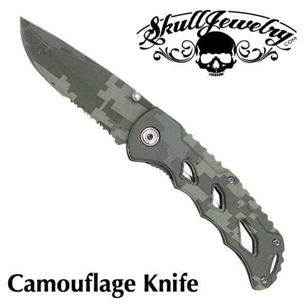 Camouflage Knife