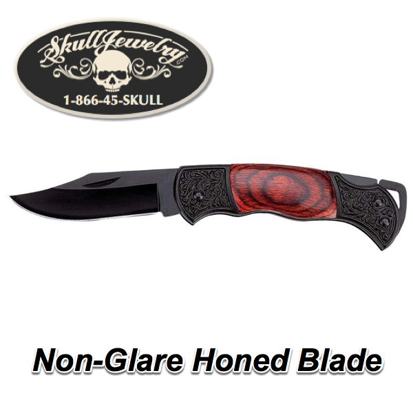 Non-Glare Honed Blade