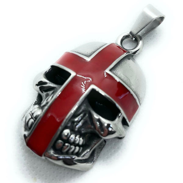 knights templar red cross pendant