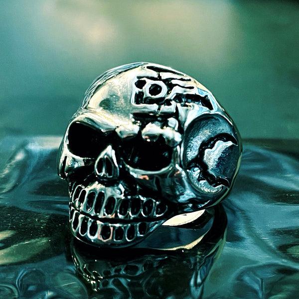 'Lonely Days' Skull Ring