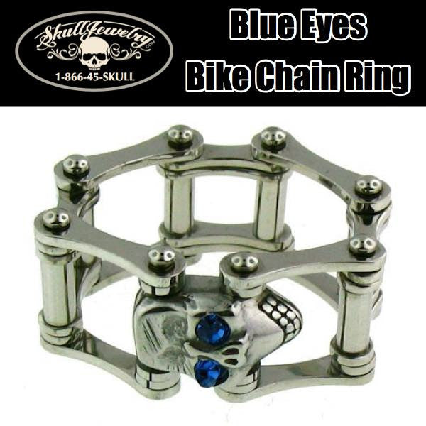 Blue Eyes Bike Chain Ring