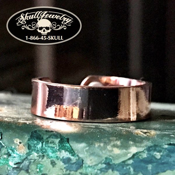 'Mysterious Ways' Copper Ring with Magnets