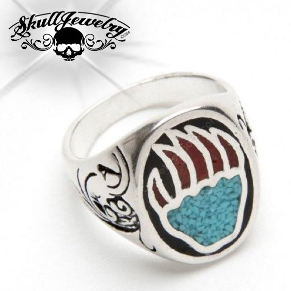 'Bear Claw' Turquoise Ring