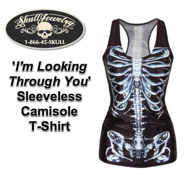 'I'm Looking Through You' Sleeveless Camisole T-Shirt