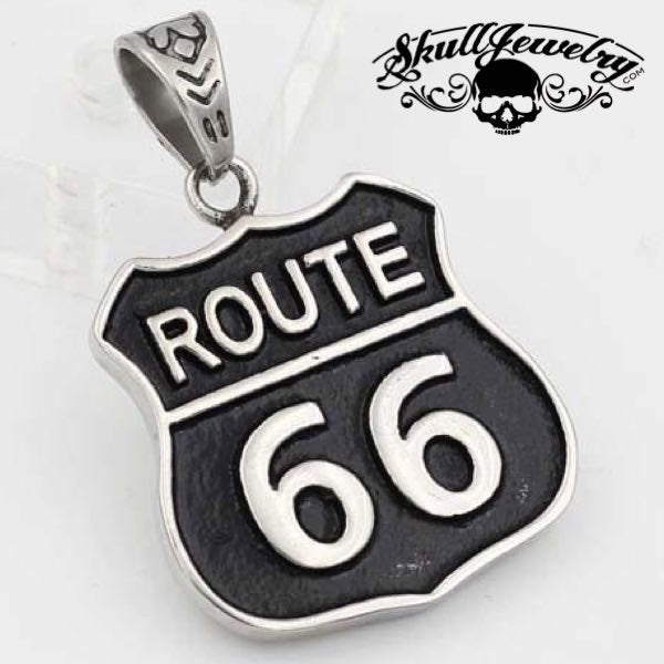 Historic 'Route 66' Pendant