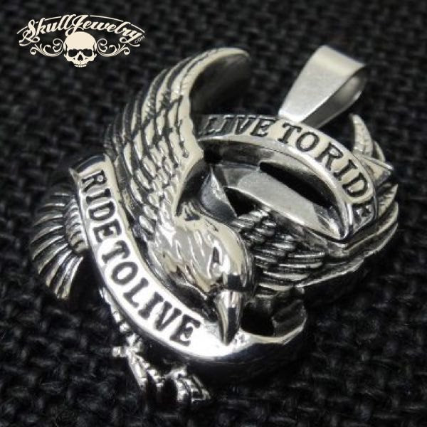 'Live to Ride, Ride To Live' Pendant