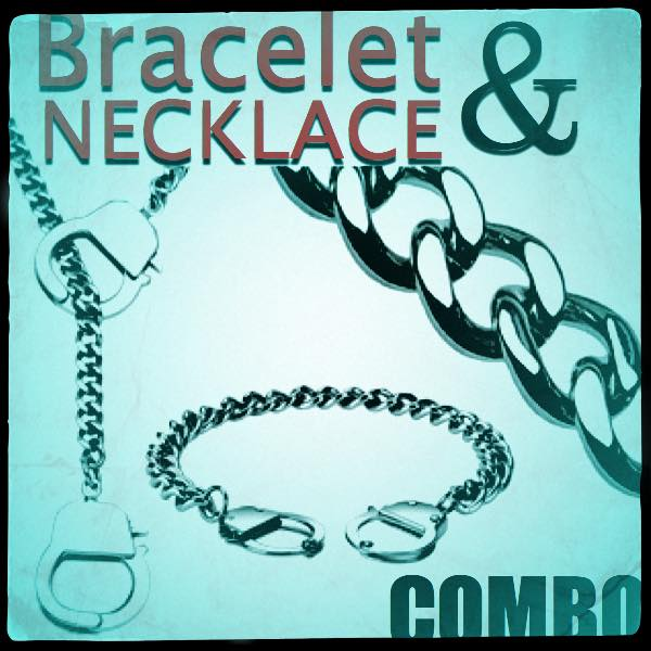 COMBO - Handcuffs Necklace/Bracelet (929)