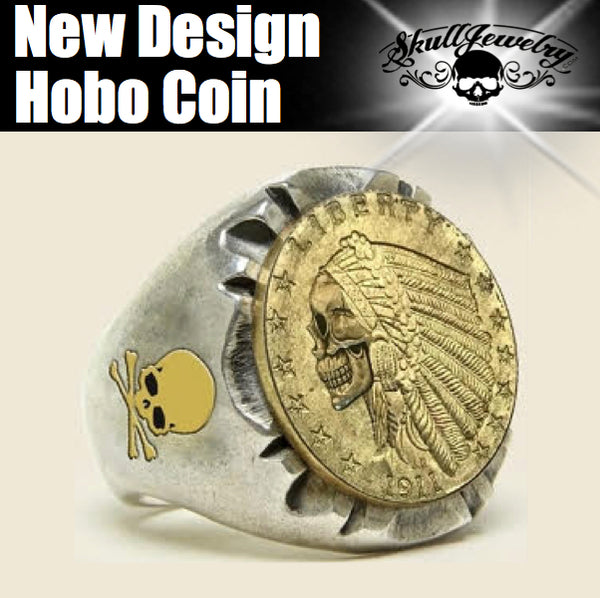 PRE-ORDER - 'Hobo Coin' Indian Gold Quarter Eagle (048)