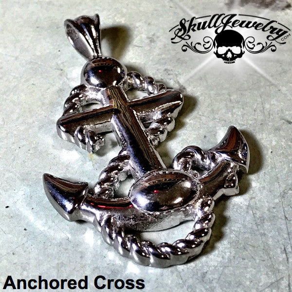 Anchored Cross Pendant