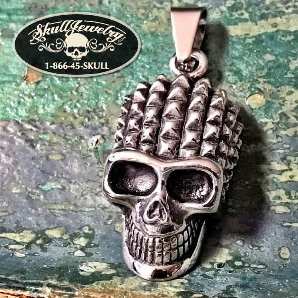'Can't Get It Out Of My Head' Skull Pendant