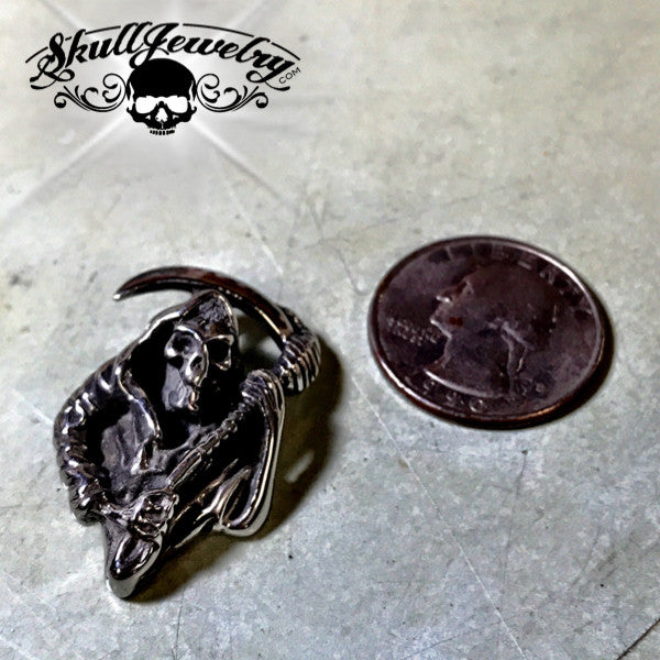 'Angel of Death' Grim Reaper Pendant