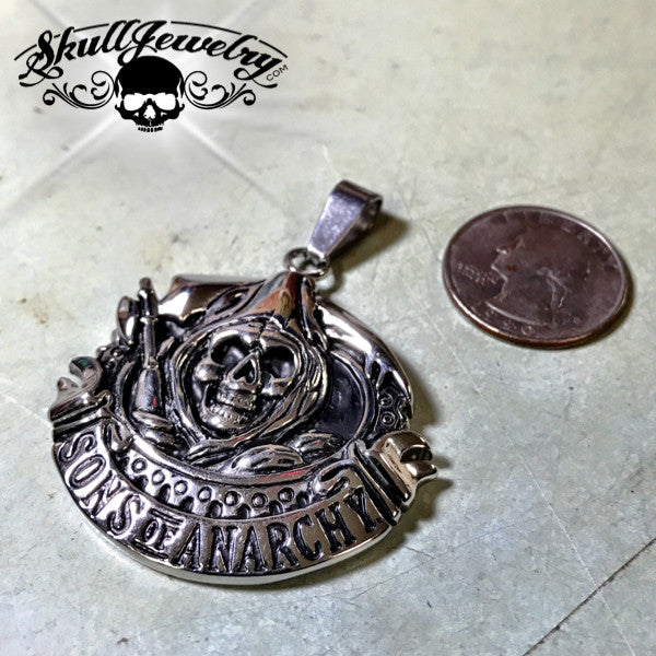 Big & Bold SONS of Anarchy Pendant