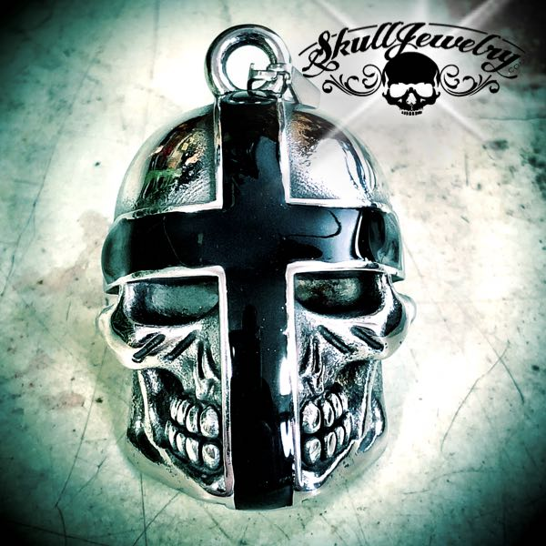 'Holy Crusader' Skull Pendant with or without a 18