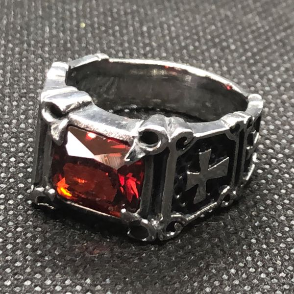 red Gypsy Queen ring