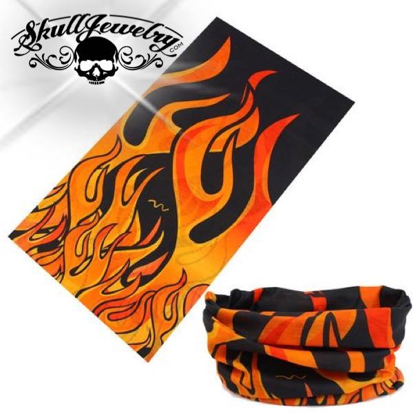 Red Flames Mask/Bandana