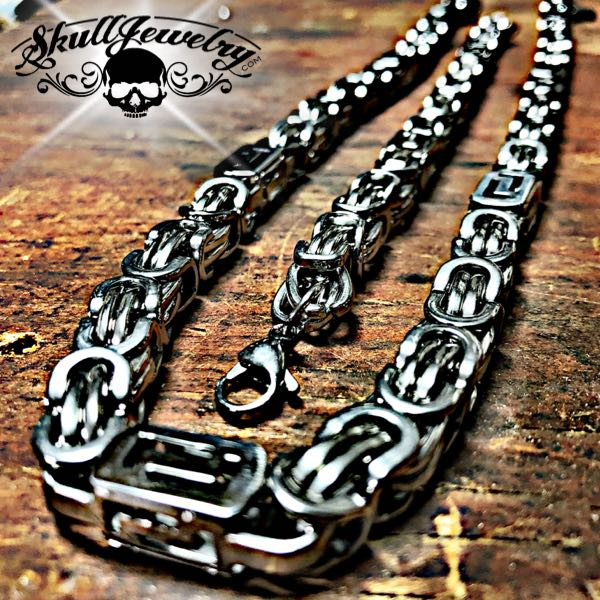 Stainless Steel Necklace & Bracelet Combo