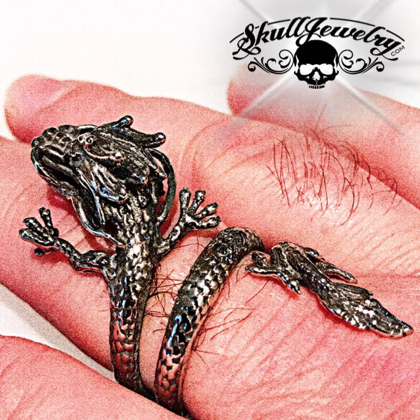 'Slayer' Steel Dragon Ring (731)
