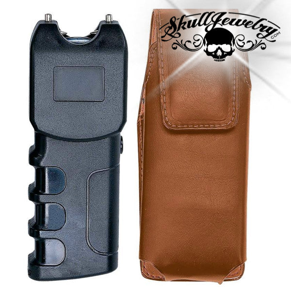 300,000 Volt Stun Gun & Flashlight w/ Sheath