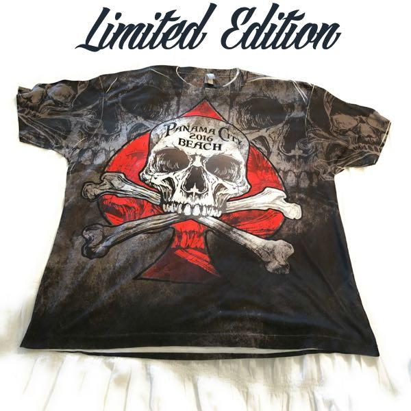 sublimation all-over printed t-shirt