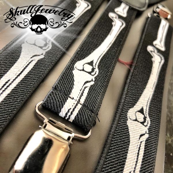 'Bone Daddy' suspenders