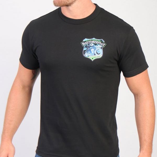 Biketoberfest 2016 T-Shirt - Shield Logo