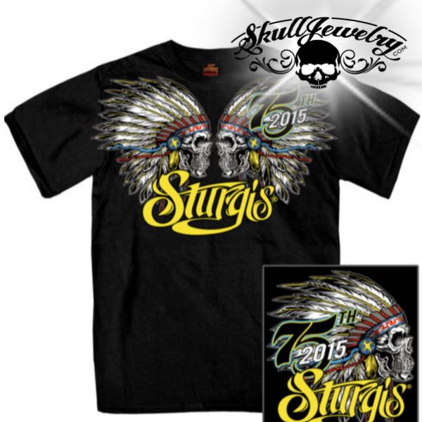 Double Indian Sturgis Bike Week T- Shirt