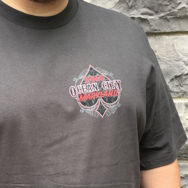 Ocean City Maryland Bike Week 2014 T-Shirt