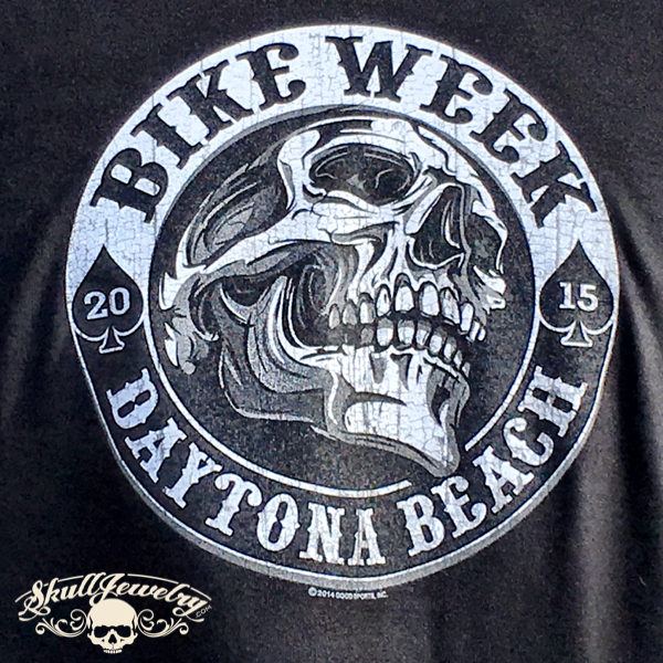 Daytona Beach Bike Week - Black or Red
