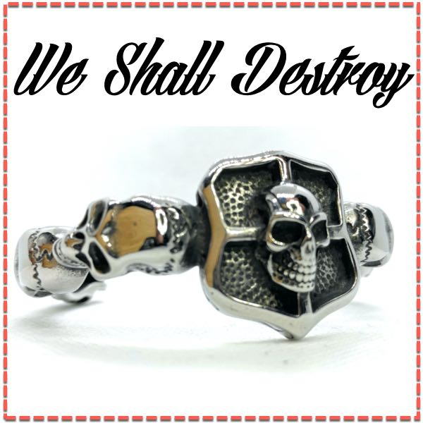 we shall destroy bangle bracelet
