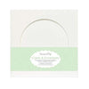 "Circle Window White 6x6"""" Cards Blanks & Envelopes"