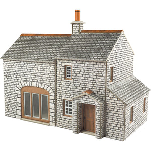 Crofter's Cottage OO Scale Card Kit